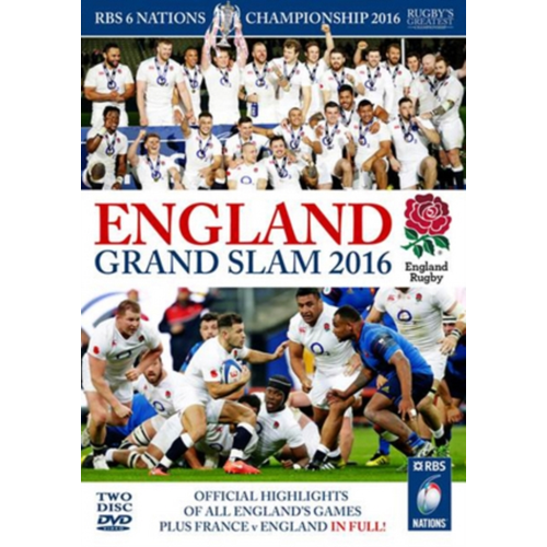 RBS Six Nations Championship: 2016 - England Grand Slam (UK-import) (DVD)