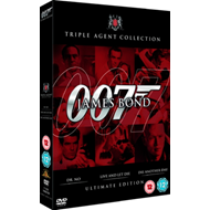 James Bond: Ultimate Red Triple Pack (UK-import) (DVD)