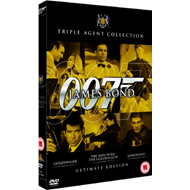James Bond: Ultimate Golden Triple Pack (UK-import) (DVD)