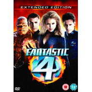 Produktbilde for Fantastic 4 (Extended Edition) (UK-import) (DVD)