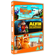 Horton Hears A Who!/Alvin And The Chipmunks/Garfield 2 (UK-import) (DVD)