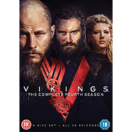 Vikings: The Complete Fourth Season (UK-import) (DVD)
