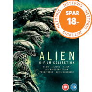 Alien: 6-Film Collection (UK-import) (DVD)