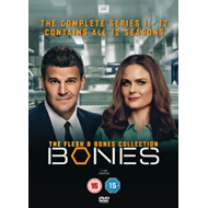 Bones: The Flesh & Bones Collection - The Complete Series 1-12 (UK-import) (DVD)