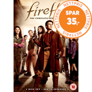 Produktbilde for Firefly: The Complete Series (UK-import) (DVD)
