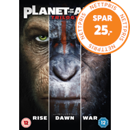 Produktbilde for Planet Of The Apes Trilogy (UK-import) (DVD)
