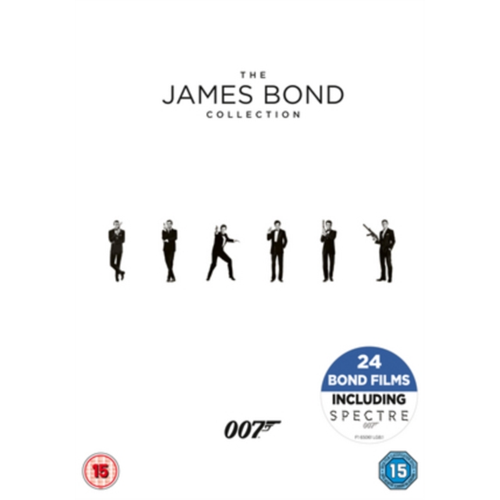 The James Bond Collection (UK-import) (DVD)