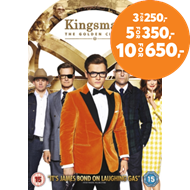 Produktbilde for Kingsman: The Golden Circle (UK-import) (DVD)