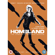 Produktbilde for Homeland: The Complete Seventh Season (UK-import) (DVD)