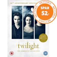 Produktbilde for The Twilight Saga: The Complete Collection (UK-import) (DVD)
