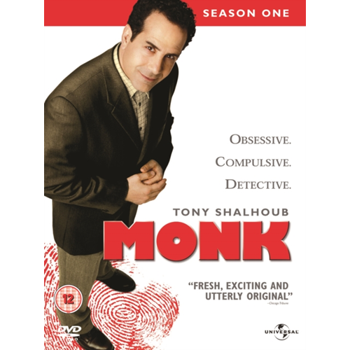 Monk: Series 1 (UK-import) (DVD)