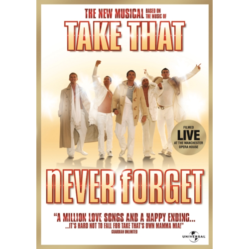 Take That: Never Forget - The Musical (UK-import) (DVD)