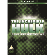 Incredible Hulk: The Complete First And Second Seasons (UK-import) (DVD)