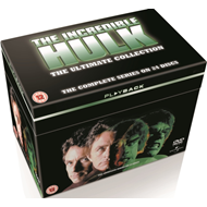 Incredible Hulk: The Complete Seasons 1-5 (UK-import) (DVD)