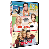 Produktbilde for Forgetting Sarah Marshall/Knocked Up/You, Me And Dupree (UK-import) (DVD)