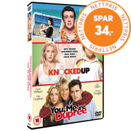 Forgetting Sarah Marshall/Knocked Up/You, Me And Dupree (UK-import) (DVD)