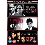 Produktbilde for American Gangster/Scarface/Casino (UK-import) (DVD)