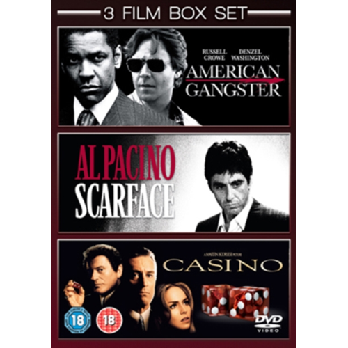 American Gangster/Scarface/Casino (UK-import) (DVD)