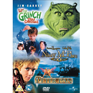 Produktbilde for Nanny Mcphee/The Grinch/Peter Pan (UK-import) (DVD)