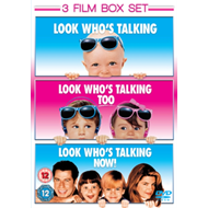 Produktbilde for Look Who's Talking/Look Who's Talking Too/Look Who's Talking Now! (UK-import) (DVD)