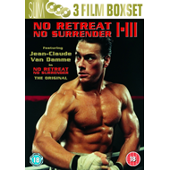 No Retreat, No Surrender 1-3 (UK-import) (DVD)