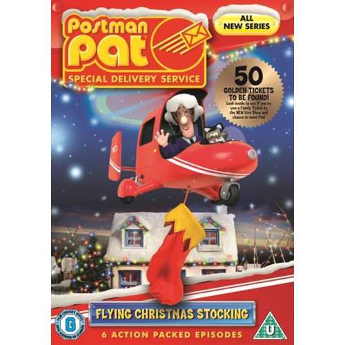 Postman Pat - Special Delivery Service: Flying Christmas Stocking (UK-import) (DVD)