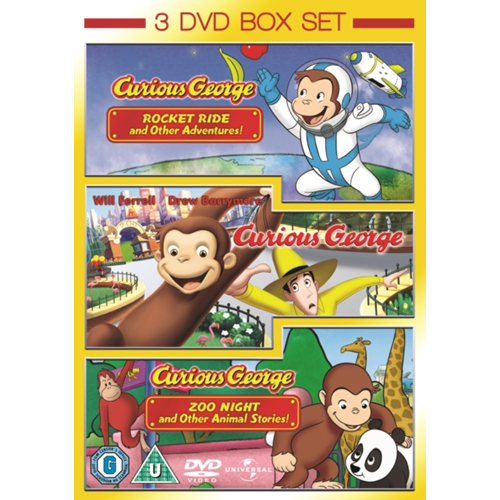 Curious George: Volumes 1 And 2/The Movie (UK-import) (DVD)