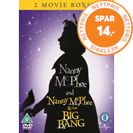 Produktbilde for Nanny Mcphee/Nanny Mcphee And The Big Bang (UK-import) (DVD)