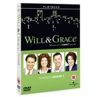 Produktbilde for Will And Grace: The Complete Series 3 (UK-import) (DVD)