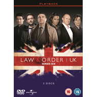 Law And Order - UK: Season 6 (UK-import) (DVD)