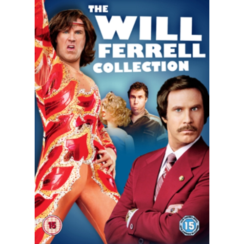 Blades Of Glory/Old School/Anchorman (UK-import) (DVD)