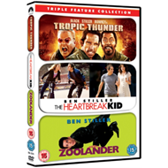 Tropic Thunder/Zoolander/The Heartbreak Kid (UK-import) (DVD)