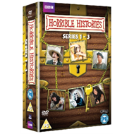Horrible Histories: Series 1-3 (UK-import) (DVD)
