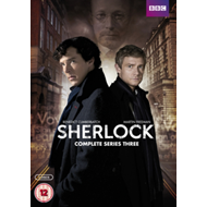 Produktbilde for Sherlock: Complete Series Three (UK-import) (DVD)