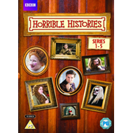 Produktbilde for Horrible Histories: Series 1-5 (UK-import) (DVD)