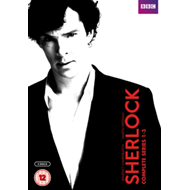 Produktbilde for Sherlock: Complete Series 1-3 (UK-import) (DVD)