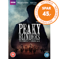 Produktbilde for Peaky Blinders: The Complete Series 1 And 2 (UK-import) (DVD)