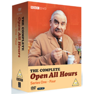 Produktbilde for Open All Hours: The Complete Series 1-4 (UK-import) (DVD)