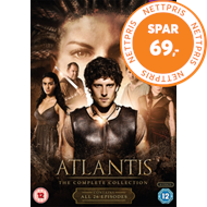 Produktbilde for Atlantis: The Complete Collection (UK-import) (DVD)