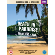 Death In Paradise / Mord I Paradis - Sesong 1-5 (UK-import) (DVD)