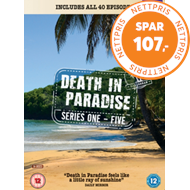 Produktbilde for Death In Paradise / Mord I Paradis - Sesong 1-5 (UK-import) (DVD)
