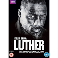 Luther: Series 1-4 (UK-import) (DVD)