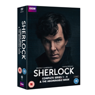 Produktbilde for Sherlock: Complete Series 1-4 & The Abominable Bride (UK-import) (DVD)