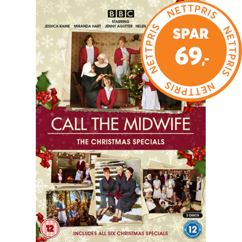 Call The Midwife / Nytt Liv I East End - The Christmas Specials (UK-import) (DVD)