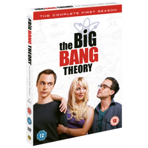 Big Bang Theory: The Complete First Season (UK-import) (DVD)