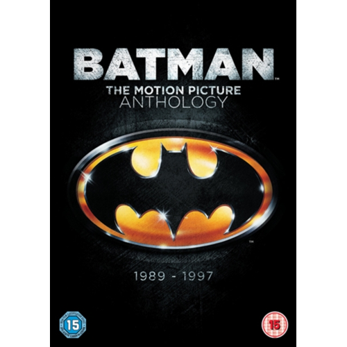 Batman: The Motion Picture Anthology (UK-import) (DVD)