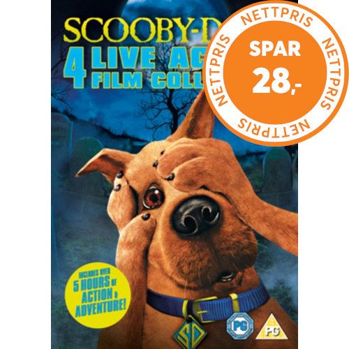 Scooby-Doo: Live Action Collection (UK-import) (DVD)