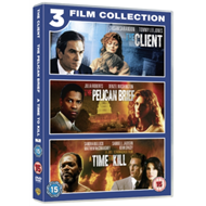 Produktbilde for The Client / The Pelican Brief / A Time To Kill (UK-import) (DVD)