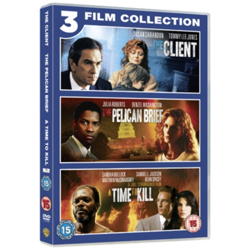 The Client / The Pelican Brief / A Time To Kill (UK-import) (DVD)