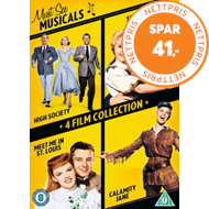 Musicals Four Film Collection (UK-import) (DVD)